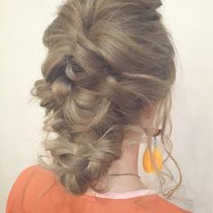 ショート 夏 くせ毛風 ロング ヘアスタイルや髪型の写真・画像