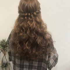 ヘアセット フェミニン 結婚式 ロング ヘアスタイルや髪型の写真・画像