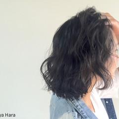 色気 ストリート 黒髪 ボブ ヘアスタイルや髪型の写真・画像