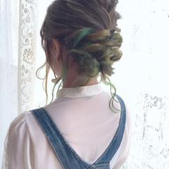 ゆるふわ ストリート 大人女子 外国人風 ヘアスタイルや髪型の写真・画像