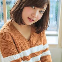 ナチュラル かわいい 秋 冬 ヘアスタイルや髪型の写真・画像