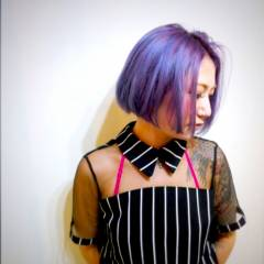 ストリート グラデーションカラー 外国人風 マルサラ ヘアスタイルや髪型の写真・画像
