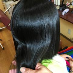 縮毛矯正 ガーリー 艶髪 パーマ ヘアスタイルや髪型の写真・画像