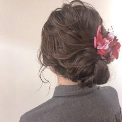 波ウェーブ 謝恩会 ゆるふわ デート ヘアスタイルや髪型の写真・画像