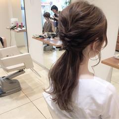 大人女子 ゆるふわ ヘアアレンジ ロング ヘアスタイルや髪型の写真・画像