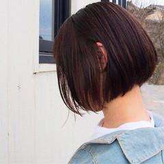 ボブ ミニボブ モテボブ ヘアアレンジ ヘアスタイルや髪型の写真・画像