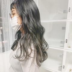 オリーブアッシュ オリーブベージュ オリーブグレージュ グレージュ ヘアスタイルや髪型の写真・画像