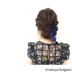 ロング 花嫁 外国人風 ヘアアレンジ ヘアスタイルや髪型の写真・画像