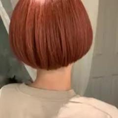 グラデーションカラー ショート ショートボブ グレージュ ヘアスタイルや髪型の写真・画像