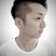 ショート モテ髪 ボーイッシュ 黒髪 ヘアスタイルや髪型の写真・画像