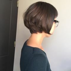 モード かっこいい 大人女子 ボブ ヘアスタイルや髪型の写真・画像
