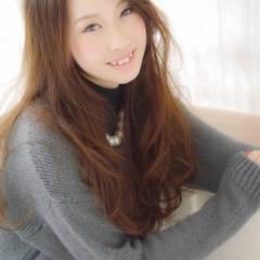 ロング 大人かわいい モテ髪 コンサバ ヘアスタイルや髪型の写真・画像