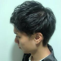 メンズカジュアル メンズカラー ナチュラル メンズヘア ヘアスタイルや髪型の写真・画像