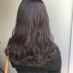 外国人風 ウェーブ ロング アンニュイ ヘアスタイルや髪型の写真・画像