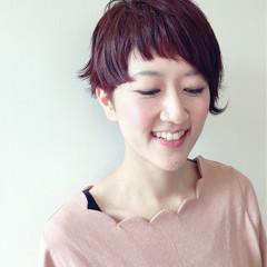 前髪あり ナチュラル 外国人風 アシメバング ヘアスタイルや髪型の写真・画像