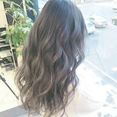 イルミナカラー アッシュグレージュ アッシュ ミルクティー ヘアスタイルや髪型の写真・画像