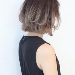 バレイヤージュ エフォートレス モード 外国人風 ヘアスタイルや髪型の写真・画像