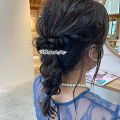 簡単ヘアアレンジ パーティー 大人かわいい 大人女子 ヘアスタイルや髪型の写真・画像