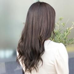 エフォートレス ロング 女子力 ナチュラル ヘアスタイルや髪型の写真・画像