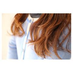 抜け感 セミロング ハイトーン イルミナカラー ヘアスタイルや髪型の写真・画像