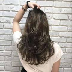 アッシュ 外国人風カラー 外国人風 グラデーションカラー ヘアスタイルや髪型の写真・画像
