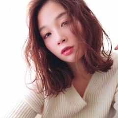 モテ髪 トレンド アディクシーカラー レイヤーカット ヘアスタイルや髪型の写真・画像