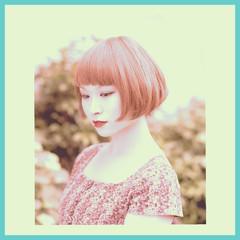 前髪あり 色気 外国人風 ボブ ヘアスタイルや髪型の写真・画像