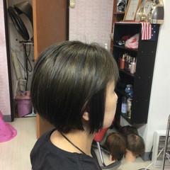 ショートボブ モード ミニボブ ベリーショート ヘアスタイルや髪型の写真・画像
