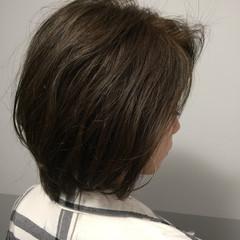 グレージュ 大人女子 大人可愛い 大人ミディアム ヘアスタイルや髪型の写真・画像