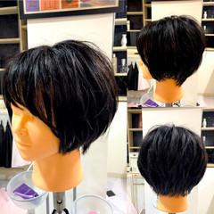 簡単 ヘアアレンジ ショート 似合わせ ヘアスタイルや髪型の写真・画像