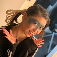 ミディアム ガーリー ヴィーナスコレクション ヘアメイク ヘアスタイルや髪型の写真・画像