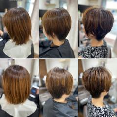 ショートヘア エレガント ウルフカット ベリーショート ヘアスタイルや髪型の写真・画像