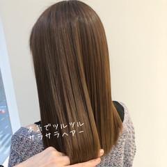 ナチュラル 縮毛矯正 最新トリートメント 髪質改善トリートメント ヘアスタイルや髪型の写真・画像