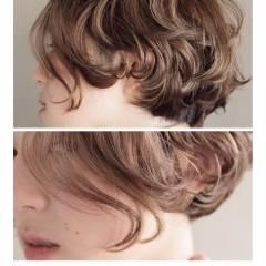 抜け感 ボブ 外国人風 秋 ヘアスタイルや髪型の写真・画像
