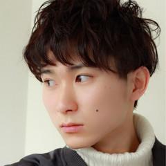暗髪 ショート モテ髪 ナチュラル ヘアスタイルや髪型の写真・画像