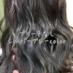 外国人風カラー ナチュラル 外国人風フェミニン セミロング ヘアスタイルや髪型の写真・画像