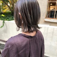 ウルフカット ボブ インナーカラー グラデーションカラー ヘアスタイルや髪型の写真・画像