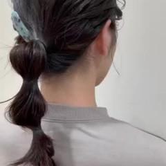 大人可愛い ヘアカラー ヘアアレンジ ガーリー ヘアスタイルや髪型の写真・画像