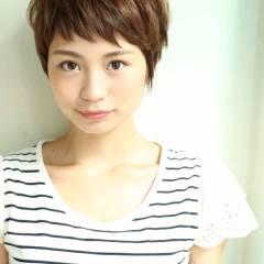 似合わせ モテ髪 小顔 ナチュラル ヘアスタイルや髪型の写真・画像