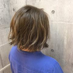 ボブ 外国人風カラー ストリート ダブルカラー ヘアスタイルや髪型の写真・画像