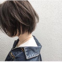 ショート 大人かわいい 大人女子 ボブ ヘアスタイルや髪型の写真・画像
