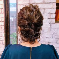 ショート ゆるふわ 大人かわいい 簡単ヘアアレンジ ヘアスタイルや髪型の写真・画像
