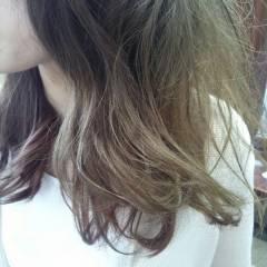 春 ストリート 外国人風 グラデーションカラー ヘアスタイルや髪型の写真・画像