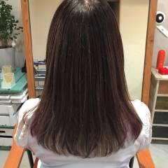 セミロング コンサバ 秋 モテ髪 ヘアスタイルや髪型の写真・画像
