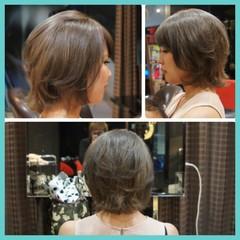 アッシュ 大人かわいい ストリート ショート ヘアスタイルや髪型の写真・画像