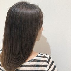 髪質改善 トリートメント ナチュラル アッシュベージュ ヘアスタイルや髪型の写真・画像