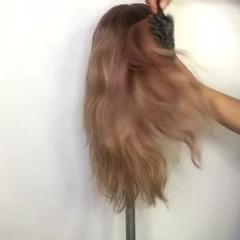 ヘアアレンジ ショート ロング ハーフアップ ヘアスタイルや髪型の写真・画像