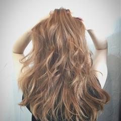 ロング ガーリー 外国人風 夏 ヘアスタイルや髪型の写真・画像