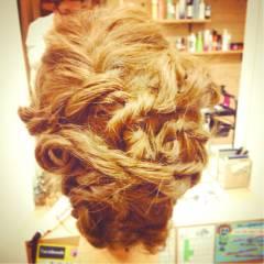 愛され アップスタイル コンサバ セミロング ヘアスタイルや髪型の写真・画像