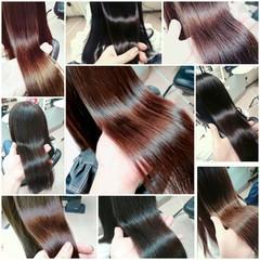 ナチュラル ストレート ロング 艶髪 ヘアスタイルや髪型の写真・画像